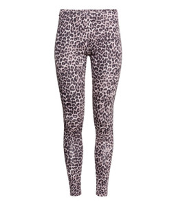 Maternity H&M leopard print leggings